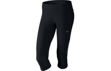 Nike Women's Tech Capri black/grand purple/mtlc red bronze